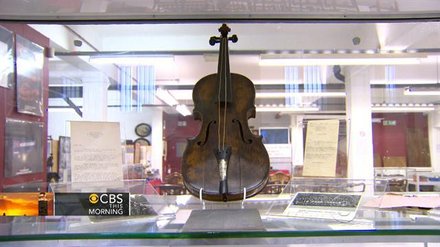 "So-called ""Titanic violin"" up for auction"