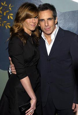 Premiere: Jennifer Aniston and Ben Stiller at the LA premiere of Universal's Along Came Polly - 1/12/2004