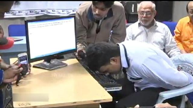The World Record for Typing... With a Nose