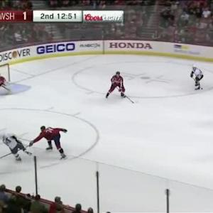 Braden Holtby Save on Chris Kunitz (07:10/2nd)