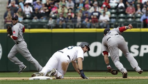 Ortiz, Red Sox beat Mariners in 10th