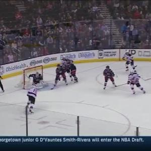 Sergei Bobrovsky Save on Travis Zajac (18:13/1st)