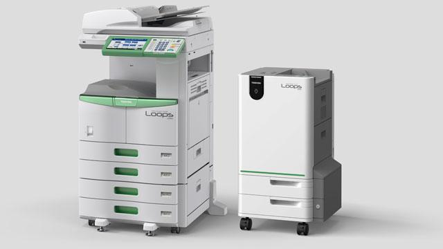Eco-Friendly Copier Erases Printouts