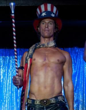 Matthew McConaughey as Dallas in 'Magic Mike' -- Warner Bros