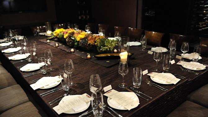 A general view at the Hennessy pairing dinner with Maurice Hennessy at Crustacean on Monday, Sept. 10, 2012, in Beverly Hills, Calif. (Photo by John Shearer/Invision for Hennessy/AP Images)
