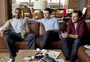 Damon Wayans Jr., Max Greenfield, Jake Johnson | Photo Credits: Isabella Vosmikova/Fox