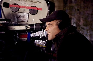 Director George Clooney on the set of Universal Pictures' Leatherheads