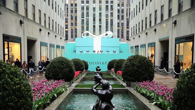 Tiffany & Co. Celebrates Its Blue Book Ball At Rockefeller Center In New York City