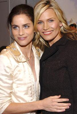 Amanda Peet and Natasha Henstridge at the Westwood premiere of Columbia Pictures' Spanglish