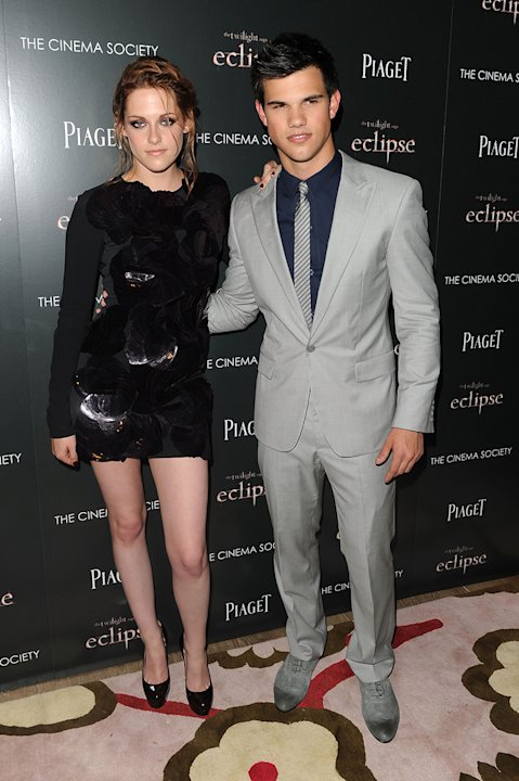The Twilight Saga Eclipse NY Screening 2010 Kristen Stewart Taylor Lautner