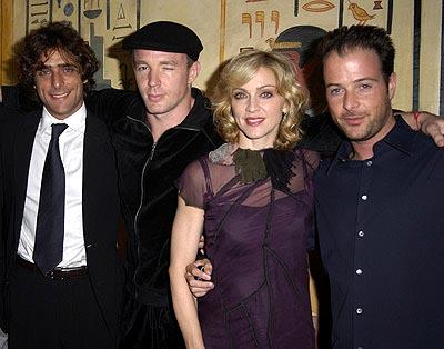 Adriano Giannini , Guy Ritchie , Madonna and Matthew Vaughn at a Los Angeles screening of Screen Gems' Swept Away