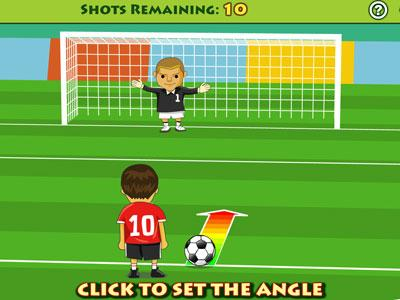 free kick games free play