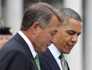 President Obama and Speaker Boehner