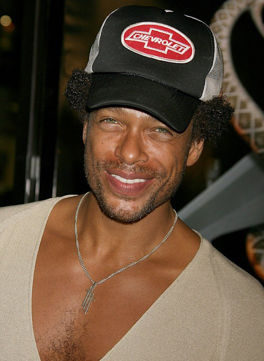"Gary Dourdan at the ""Snakes on a Plane"" Los Angeles Premiere Sponsored by Palm."