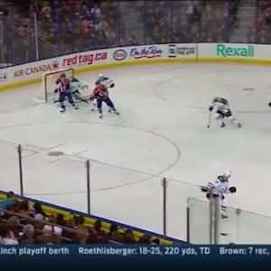 Kari Lehtonen Save on Anton Lander (15:18/1st)