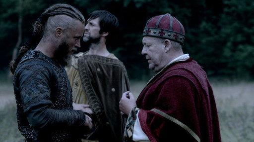 Ragnar Speaks With King Ecbert's Men