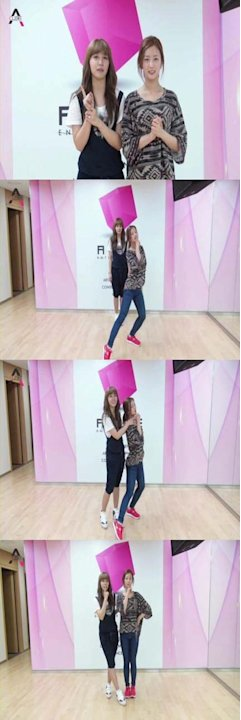 Learn How to Hush from A Pinks Jung Eun Ji and Yoon Bo Mi