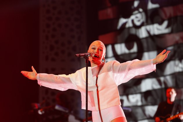 Jessie J performs during the 12th Mawazine World Rhythms international Music Festival in Rabat