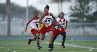 Miramar girls flag football program