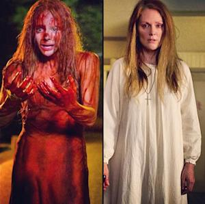 Chloe Moretz and Julianne Moore seen in 'Carrie' -- Twitter