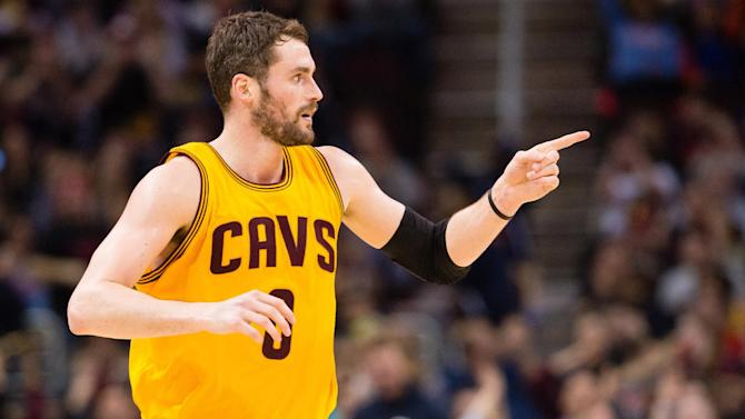 Love gets message from LeBron, scores 32 in Cavs' win