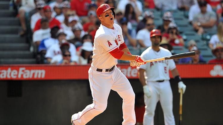 MLB: Baltimore Orioles at Los Angeles Angels