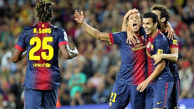 FOOTBALL 2012 Barcelona - Adriano