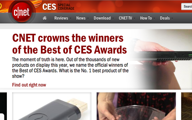 CBS Puts CNET In an Ethically Questionable Spot at CES
