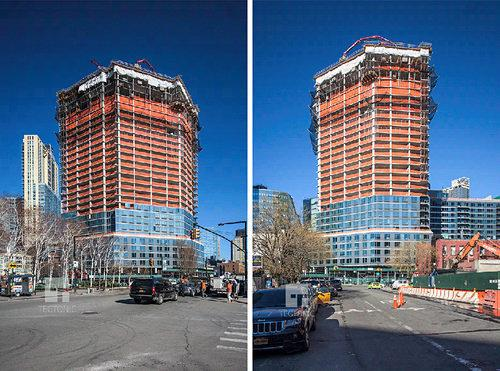 In Long Island City, Queens's Erstwhile Tallest Tower Rises