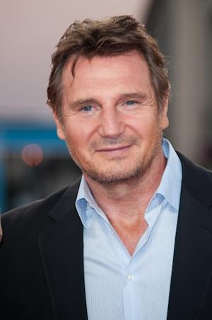 Liam Neeson poses on the red carpet before the screening of his movie 'Taken 2' during the 38th Deauville American Film Festival, France, on September 7, 2012 -- Getty Images