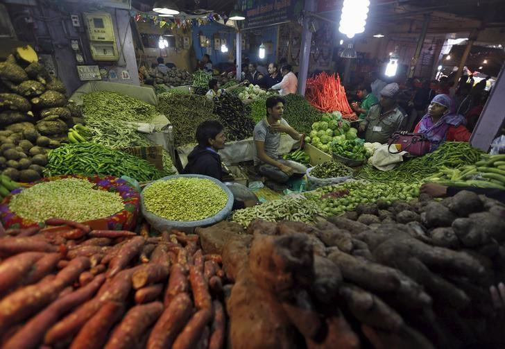 India's retail inflation hits 17-month high, industrial output falls again