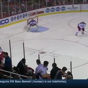 Sergei Bobrovsky Save on Darren Helm (00:56/1st)