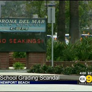 School Grading Scandal Reported At Corona Del Mar High School