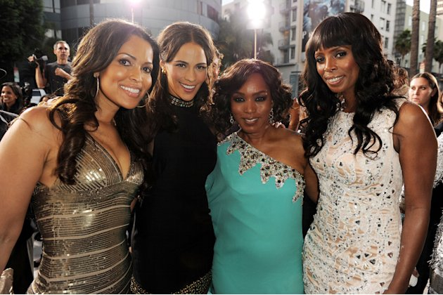 Jumping the Broom LA Premiere 2011 Tracey Edmonds Paula Patton Angela Bassett Tasha SMith