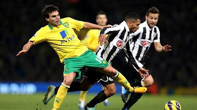 Norwich played out a goalless draw against Newcastle United