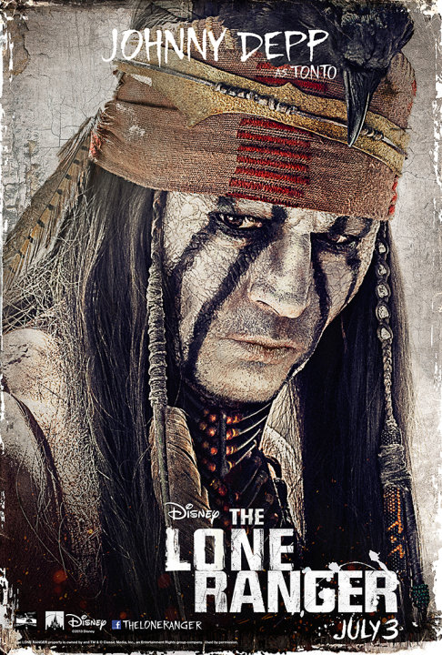 The Lone Ranger Poster
