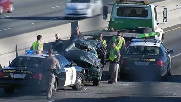 One killed in multi-car crash on WB I-80 in Richmond