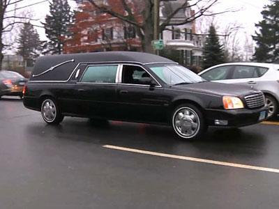 Raw: Funeral for Conn. Victim Jack Pinto
