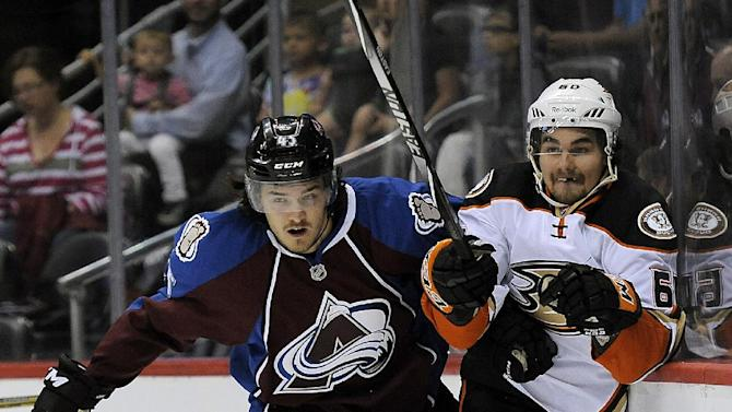 Ducks rally for 5-2 win over Avs in preseason game