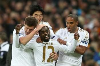 Swansea forward Dyer disappointed to miss out on hat trick despite Capital One Cup victory