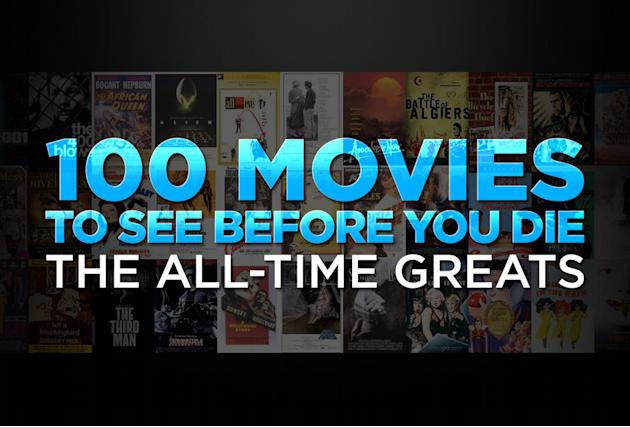 100 movies to see before you die