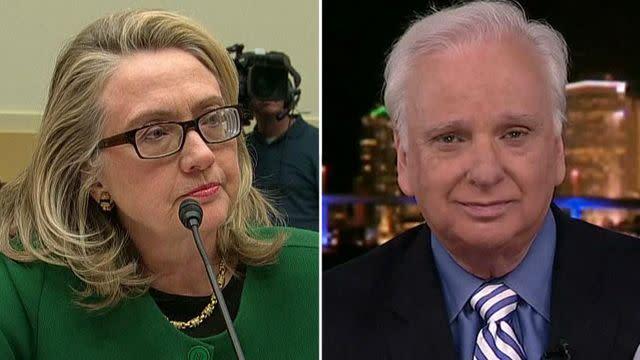 Goldberg: The media is slobbering over Hillary Clinton