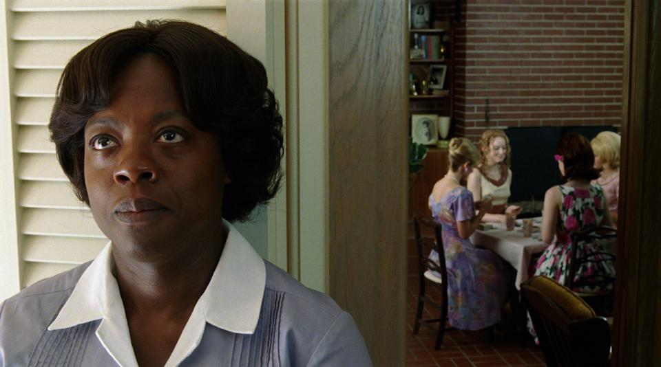 "In this film publicity image released by Disney, Viola Davis is shown in a scene from ""The Help.""  (AP Photo/Disney, Dale Robinette)"