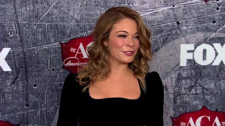 LeAnn Rimes Discusses Anorexia Rumors, Says She's Happy to Gain a Few Pounds