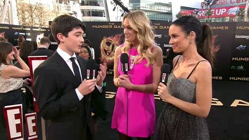 The Hunger Games Premiere: Ian Nelson