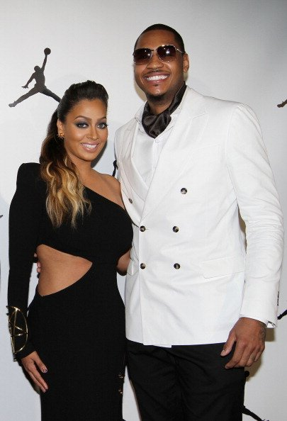 Carmelo Anthony and La La Vazquez
