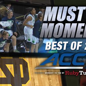 ND's Jewell Loyd Finishes Awesome Alley-Oop | Best of 2014 Must See Moment