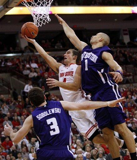 No. 2 Ohio State beats Northwestern 87-54