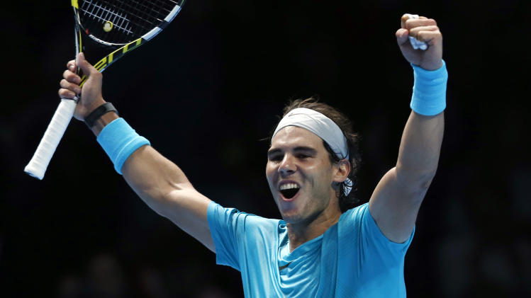 Nadal clinches year-end No. 1 at ATP Finals
