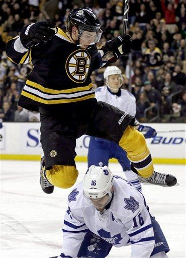 Bruins bounce back for 4-2 win over Maple Leafs